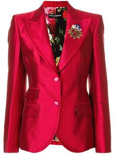 блейзер Giacca с декором Dolce & Gabbana