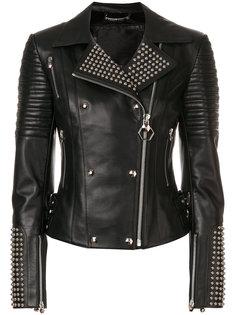 байкерская куртка Marlene Philipp Plein