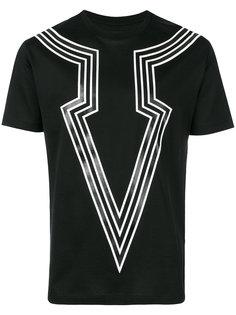 футболка с графическим принтом  Les Hommes