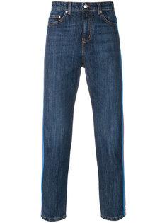 джинсы с лампасами MSGM