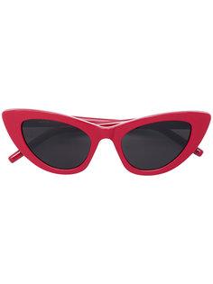 """солнцезащитные очки в оправе """"кошачий глаз"""" Saint Laurent Eyewear"""