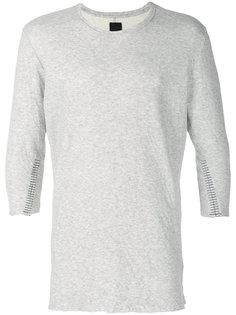 футболка с декоративной строчкой  Thom Krom