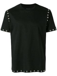 футболка с заклепками Les Hommes