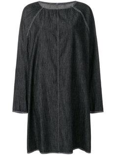 джинсовое оверсайз-платье  Mm6 Maison Margiela