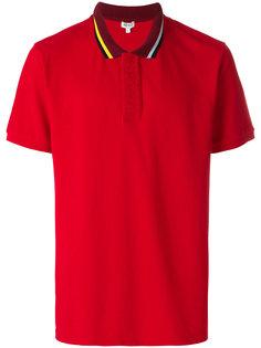 рубашка-поло с вышивкой Kenzo