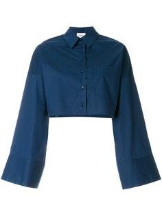 укороченная рубашка с расклешенными рукавами Dondup