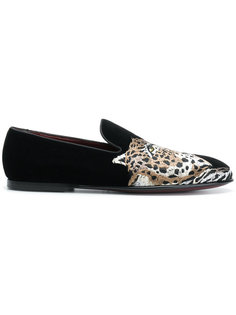 tiger design loafers  Dolce & Gabbana