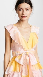 Cynthia Rowley Jetset Pineapple Dress