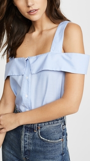 ENGLISH FACTORY Sleeveless Top