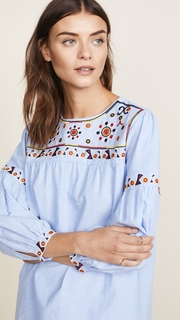 ENGLISH FACTORY Embroidery Detail Dress