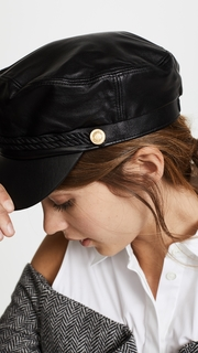 Hat Attack Leather Emmy Cap