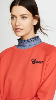 Scotch & Soda/Maison Scotch Blau Sweatshirt