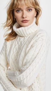 Protagonist Rollneck Cable Sweater