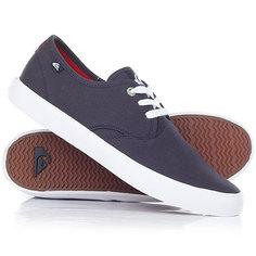 Кеды кроссовки низкие Quiksilver Shorebreak Blue/Red/White