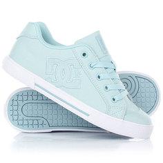 Кеды кроссовки низкие женские DC Chelsea Tx Light Blue