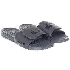 Шлепанцы Quiksilver Shoreline Adjus Grey/Black
