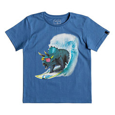 Футболка детская Quiksilver Get Off Boy Bright Cobalt