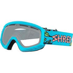 Маска для сноуборда Shred Mini Dragosaurus Grey Neon Blue