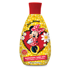 MISS MINNIE Пена для ванны с ароматом клубники детская Мисс Минни 300 мл
