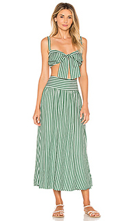 Striped top and skirt set - ADRIANA DEGREAS