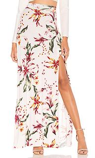 Юбка-макси с цветочным рисунком sarah - Clayton
