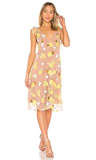 Платье миди fruitpunch - For Love & Lemons