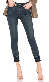 Укороченные джинсы скинни high rise - rag & bone/JEAN
