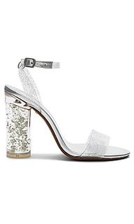 Туфли с прозрачным каблуком sammy - RAYE