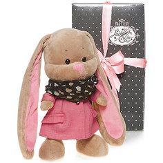 Зайка Лин в розовом пальто, 25 см, MAXITOYS