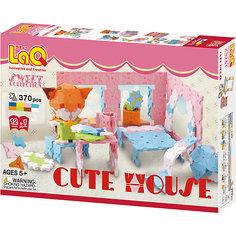 Конструктор Cute House, 370 деталей, LaQ