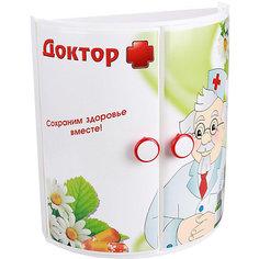 """Полка для ванной  """"Доктор +"""" (прямая), Alternativa"""