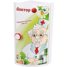 """Полка для ванной  """"Доктор +"""" (угловой), Alternativa"""