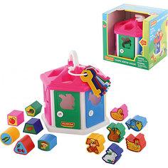 Логический домик (в коробке), Polesie Полесье
