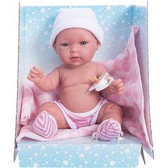 """Кукла-пупс Vestida de Azul """"Soft Touch"""" Оливия в памперсах, 30 см"""