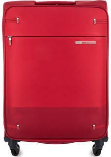 Красный чемодан на колесах Samsonite
