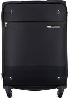 Черный чемодан на колесах Samsonite