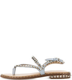 Кожаные сандалии с металлическим декором Ash