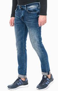 Синие джинсы скинни Mavi