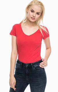 Однотонная футболка с карманом Mavi