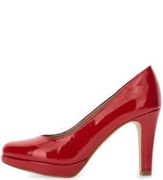 Лаковые туфли на каблуке S.Oliver