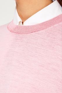 Розовый джемпер из шерстяного микса Acne Studios