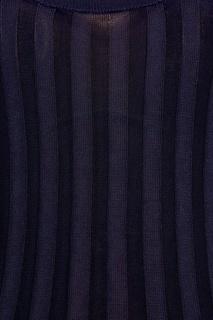 Синий топ в рубчик Acne Studios