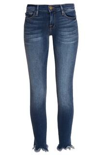 Синие джинсы с потертым эффектом Frame Denim