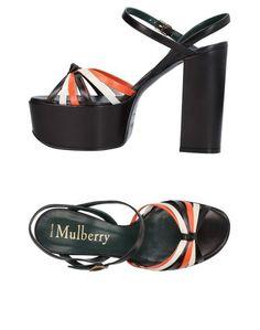 Сандалии Mulberry