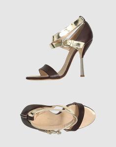 Босоножки на каблуке Giuseppe Zanotti Design