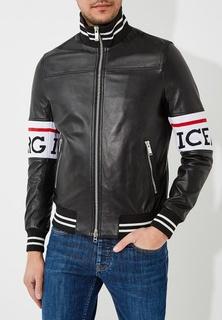 Куртка кожаная Iceberg