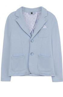 Однобортный пиджак джерси Armani Junior