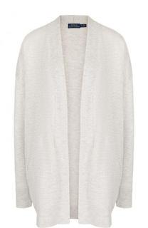 Удлиненный вязаный кардиган свободного кроя Polo Ralph Lauren