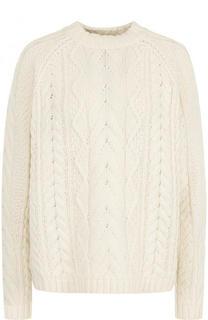 Пуловер свободного кроя с круглым вырезом Polo Ralph Lauren