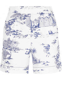 Хлопковые мини-шорты с принтом Tak.Ori